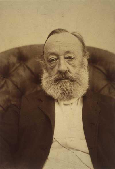 Gottfried Keller im Alter
