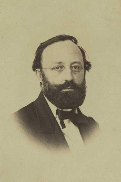 Gottfried Keller im mittleren Alter
