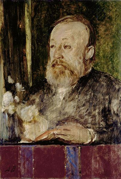 Ein Portrait von Gottfried Keller